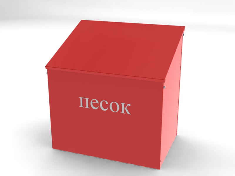 Ящик для песка 0,1 куб.м. (огнетушащего порошка) в сборе