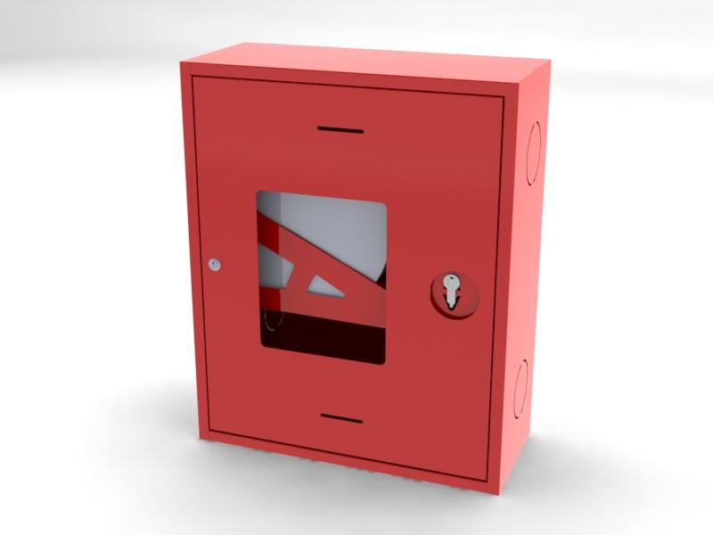ШПК-310 НОК навесной открытый красный